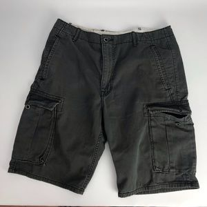 Levi Strauss Charcoal Gray Cargo Shorts